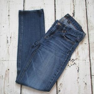 J. Crew Matchstick Straight Low Rise Womens Jeans